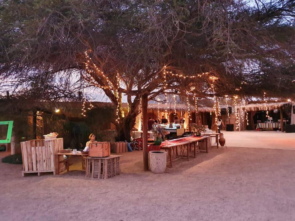 קבלת פנים חתונה במדבר
