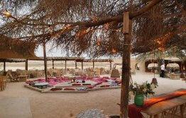 מבטח למתחם הזולות באירוע חתונה במדבר