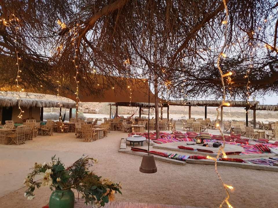 הקסם של חתונה במדבר קצב אחר ליד מעגל האש