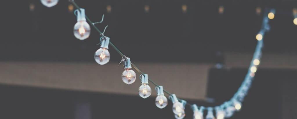אווירה מושלמת לחתונה באמצעות תאורה