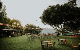 בריכה בשרון Paradise Garden מבט לקייטרינג