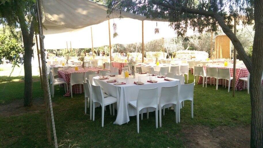 הפקת חתונה בחווה