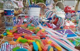 ממתקים בהפקת בת מצווה