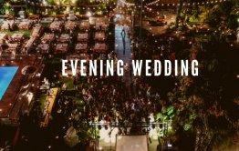 חתונה בוילה במרכז בערב